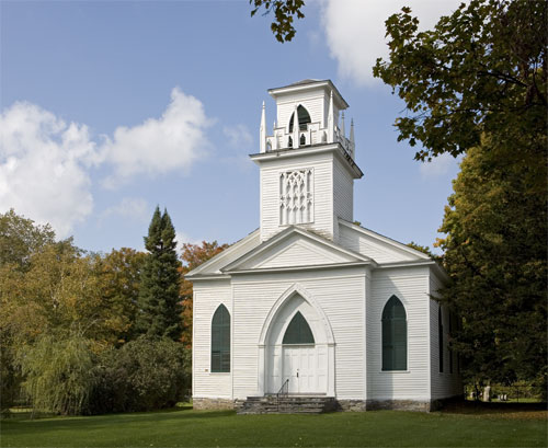 St Johns Episcopal Church, East Poultney.