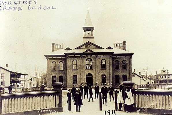 Poultney Graded School, 1911