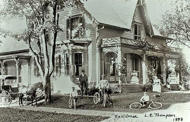 L.E. Thompson Home, 1898