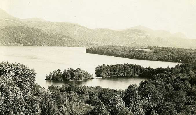 Lake St. Catherine, circa 1900
