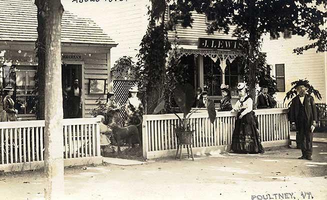 Main Street, Poultney 1895