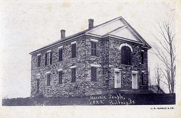 Old Stone Church, circa 1900