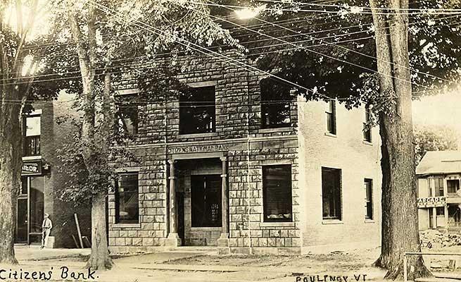 Poultney Public Library, circa 1910