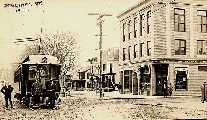 Humphrey block and trolley, 1911