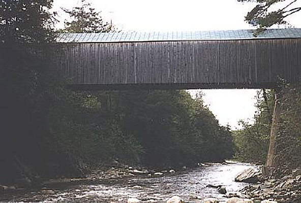 Covered bridge, East Poultney