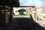 Second Floor shored and existing foundation removed.