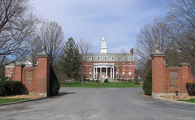 Green Mountain College, entrance gate