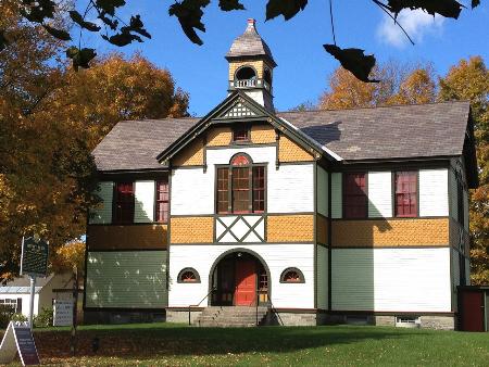 East Poultney Schoolhouse (1896) restored