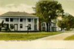 Eagle Tavern, color tinted postcard