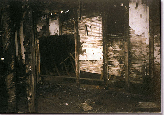 Stonebridge - burned interior