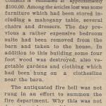 Fire in Poultney June 27, 1940